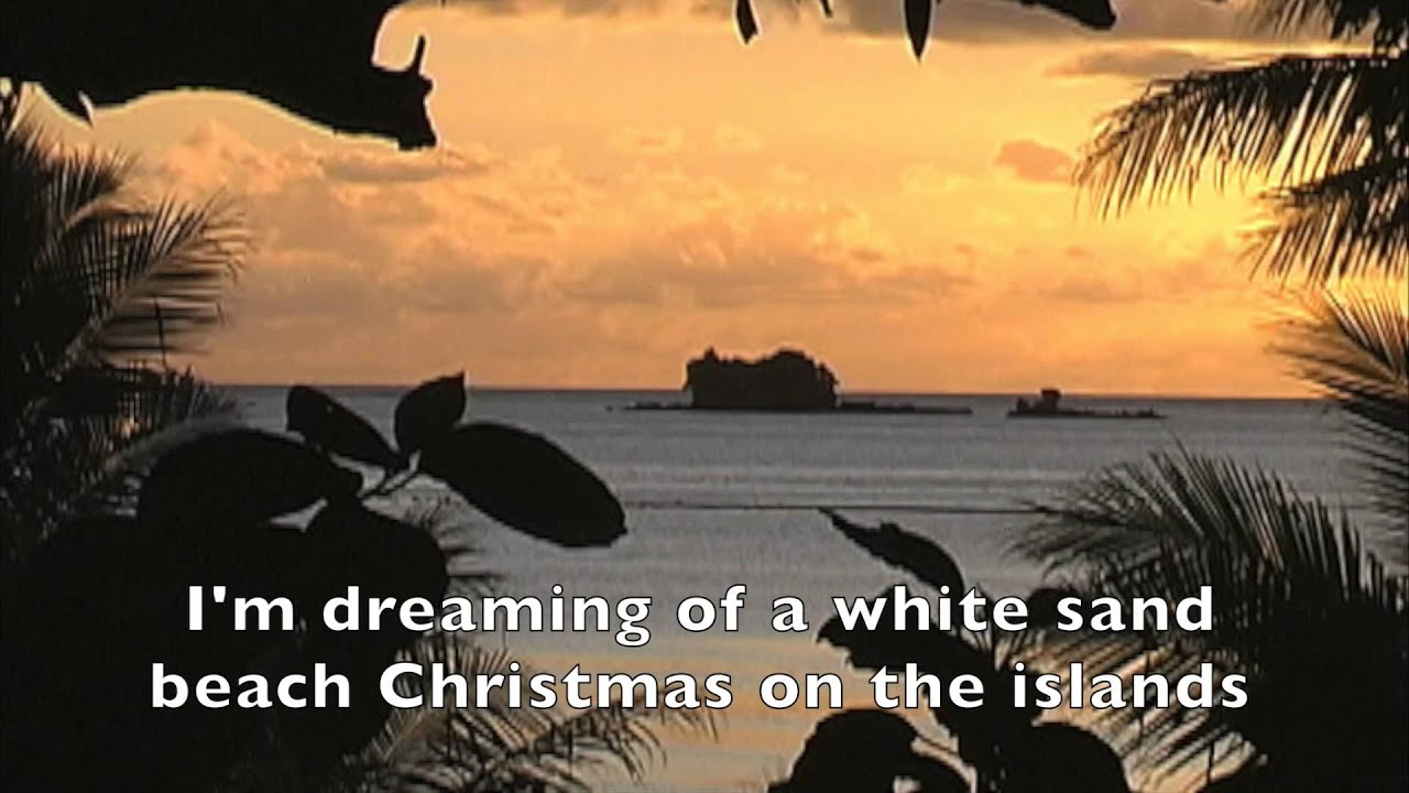 christafari white sand beach christmas lyric video reggae christmas - Beach Christmas Pictures