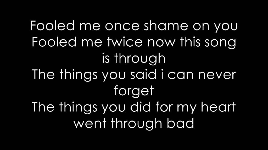 Lyric love rihanna lyrics : The Last Time