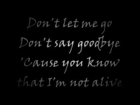 The Used - Kissing You Goodbye [Lyrics]