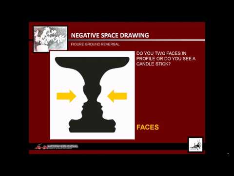 NEGATIVE SPACE DRAWING INFORMATION