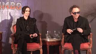 Dumbo - Paris press conference (Tim Burton, Eva Green)