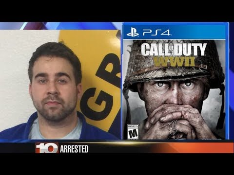 YouTube Star ARRESTED for SELLING CALL OF DUTY World War 2 EARLY. Claims GameStop set him up 🎮😂