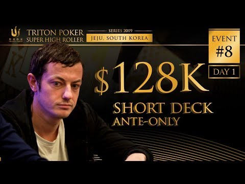 Event #8 Triton Short Deck Ante-Only 1M HKD