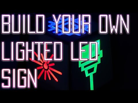 Creating  Your Own Lighted Logo Sign