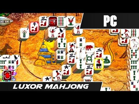LUXOR : MAH JONG (2009) // First Level // PC Gameplay  