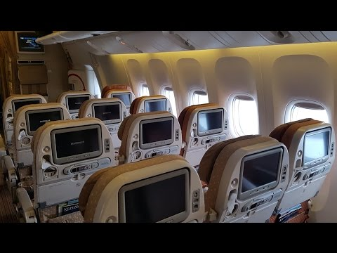 Singapore Airlines Economy Class 777:  SQ Part 1