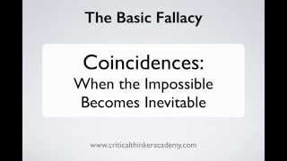 Critical Thinking About Coincidences (2/5) Thumbnail