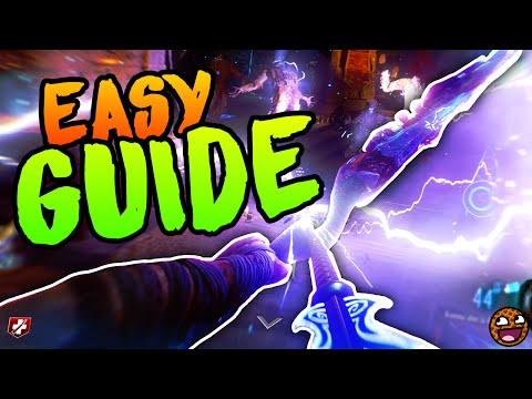 BEST LIGHTNING BOW UPGRADE GUIDE [EASY] Black Ops 3 Zombies Der Eisendrache Easter Egg Guide Full