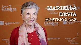 Masterclass amb Mariella Devia - Cicle Liceu Cambra