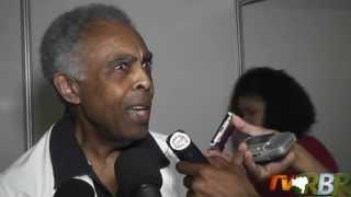 TV RBR - Entrevista coletiva com Gilberto Gil em Santo Antonio de Jesus