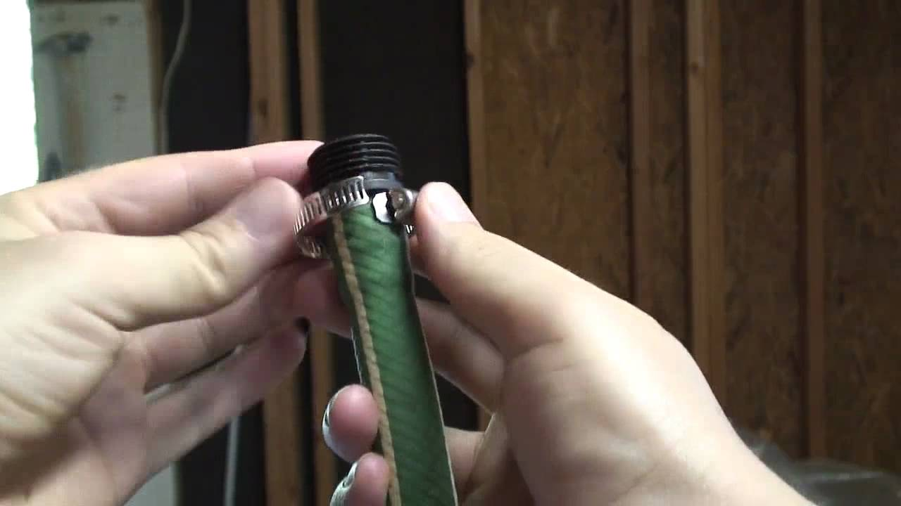 How to repair hose