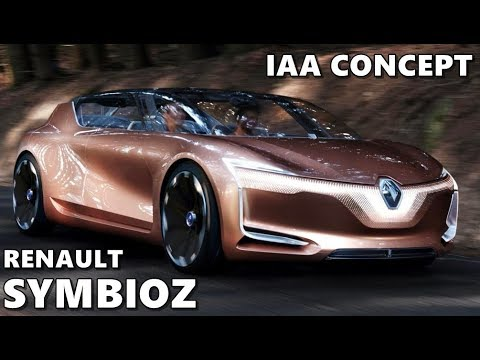 Renault Symbioz Concept Official Trailer Youtube