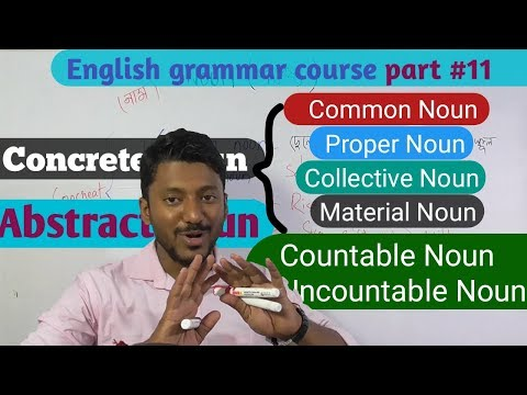 All types of Noun, সব ডাউট ক্লিয়ার