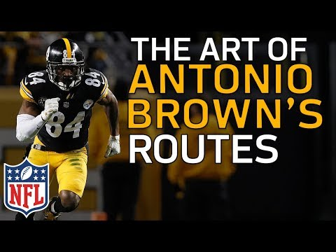 The Art of Antonio Brown's Route Running | Film Review | NFL Highlights