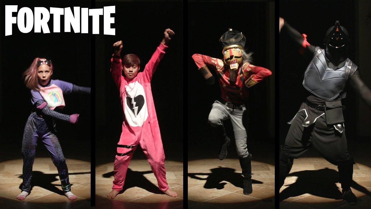 Spirit Halloween Fortnite Costumes For Kids.Fortnite Halloween Costume Fashion Show Dance Off