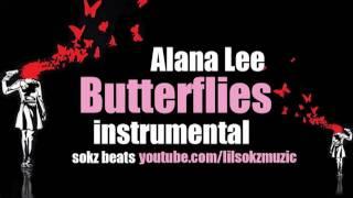 Alana Lee - Butterflies (Instrumental / Karaoke) *Official High Quality*
