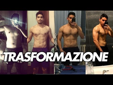 TRASFORMAZIONE VERA DI ALESSANDRO  -20KG - GRANDE!!!!