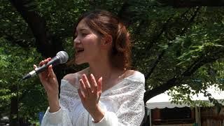 crescentの花「ハナミズキ(ハーフver.)」(一青窈)、城北公園、18.06.03