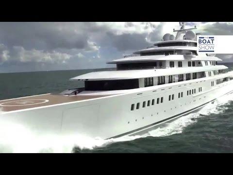 Eng Lurssen Azzam Largest Luxury Superyacht Ever The Boat Show
