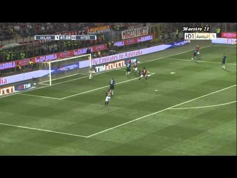 Ignazio Abate vs Inter - 02/04/2011