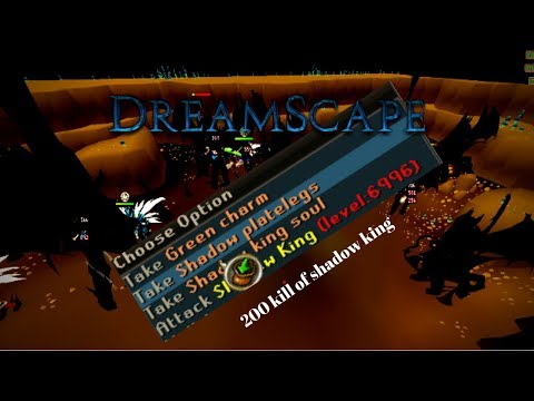 Killing 200 shadow king On The BIGGEST RSPS - Dreamscape RSPS