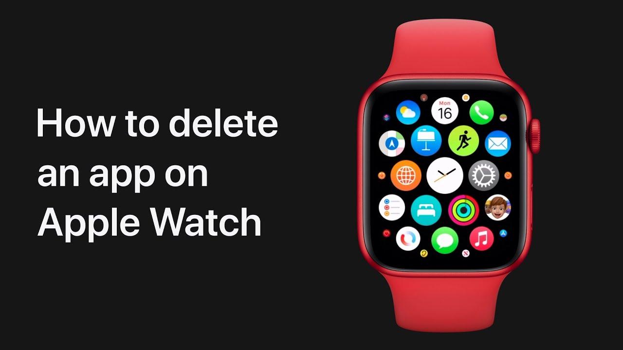 Vidéo Apple: comment supprimer une app de l'Apple Watch