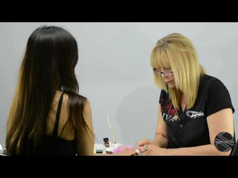 ♡ Tammy Taylor Demonstrates Neon Fade with Pool Party Neon Prizma Color Acrylic Collection