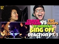 Conor Maynard VS The Vamps - Shape Of You (Sing Off)(Ed Sheeran) Reaction Pt.1