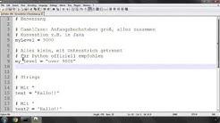 Python Crashkurs für Anfänger #04 | Konventionen & Kommentare