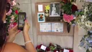 Jack Vale visits Marilyn Monroe s Crypt/Grave | Don Knotts | Dean Martin | Heather O Rourke