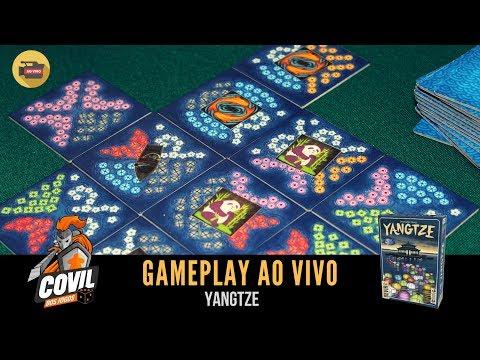 Covil dos Jogos - Gameplay Yangtze (Ao Vivo)