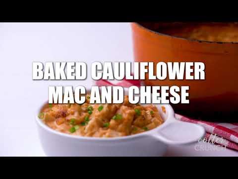 Cauliflower Mac And Cheese Bake (Vegan Recipe Option)