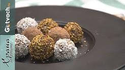 Сурови бонбони с фурми, орехи и лешници