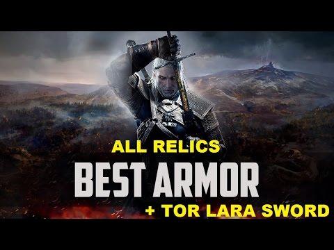 Ведьмак 3. Лучшие доспехи. Сэтовая броня и все реликты. Меч Тор Лара.