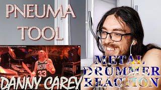 Metal Drummer Reacts - PNEUMA - DANNY CAREY - TOOL
