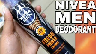 Nivea Men Fresh Power Deodorant Review | Best Deodorant For Men