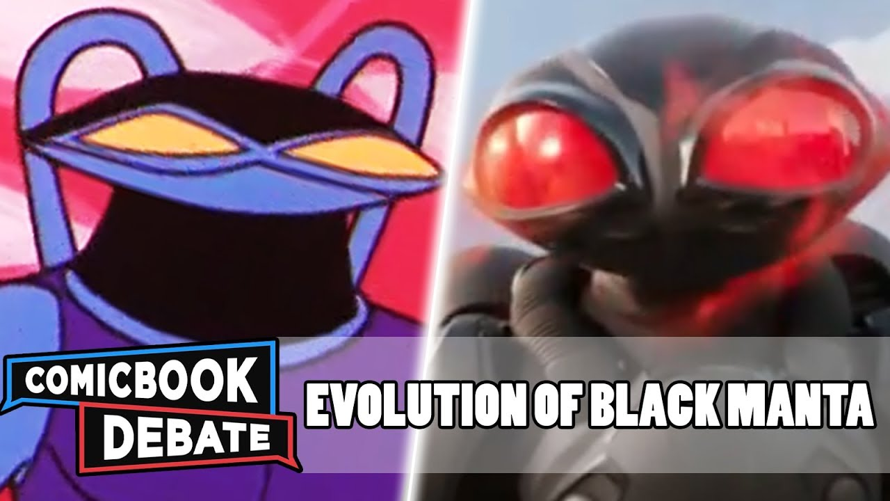 Evolution of Black Manta in Cartoons Movies  TV in 9 Minutes 2018  YouTube