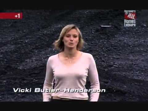 Sexy Vicki Butler Henderson excited nipples by a TVR wmv