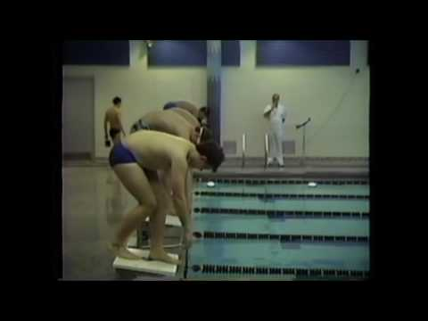 1992 Decatur Central at Lebanon Tiger Sharks boys 50 Freestyle