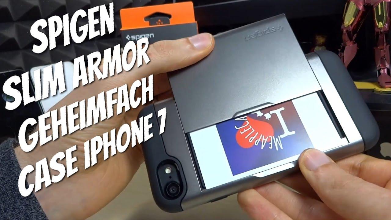 promo code 97c1e a3449 iPhone 7 Case mit Geheimfach - SPIGEN SLIM ARMOR CS im Test Review
