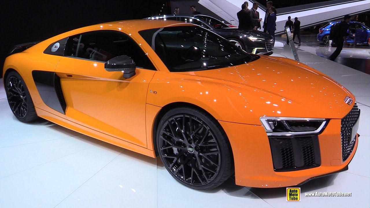 2016 Audi R8 V10 Plus Exterior And Interior Walkaround