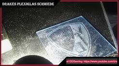 Drakes Plexiglas Schmiede VFL Bochum Logo