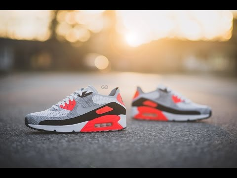 "Review & On-Feet: Nike Air Max 90 Ultra 2.0 Flyknit ""OG/Infrared"""