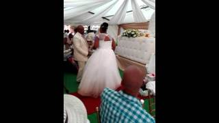 Billy and Ziphora Mosenogi dancing to Brenda Fassie