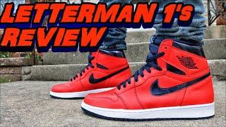 air jordan 1 high og letterman review on foot
