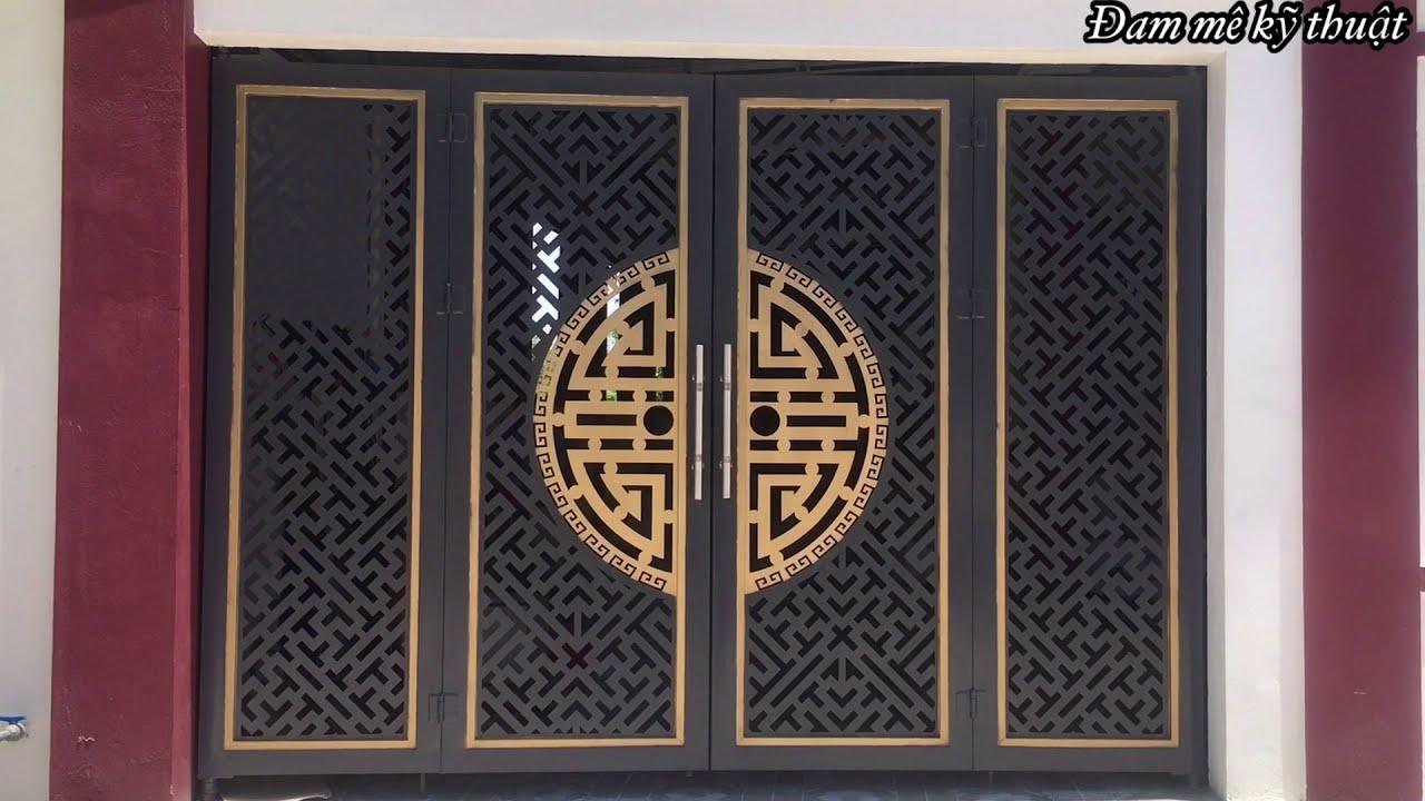 Mẫu cửa cổng sắt đẹp 2020   Modern windows grill design ideas 2020