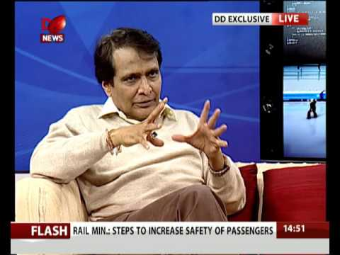 Exclusive interview with Suresh Prabhu on Rail Budget 2016