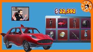 تفتيح صناديق الجديدة بقيمة 22,592$ الف شدة😍 و توزيع شدات للمشاهدين🎁 PUBG MOBILE