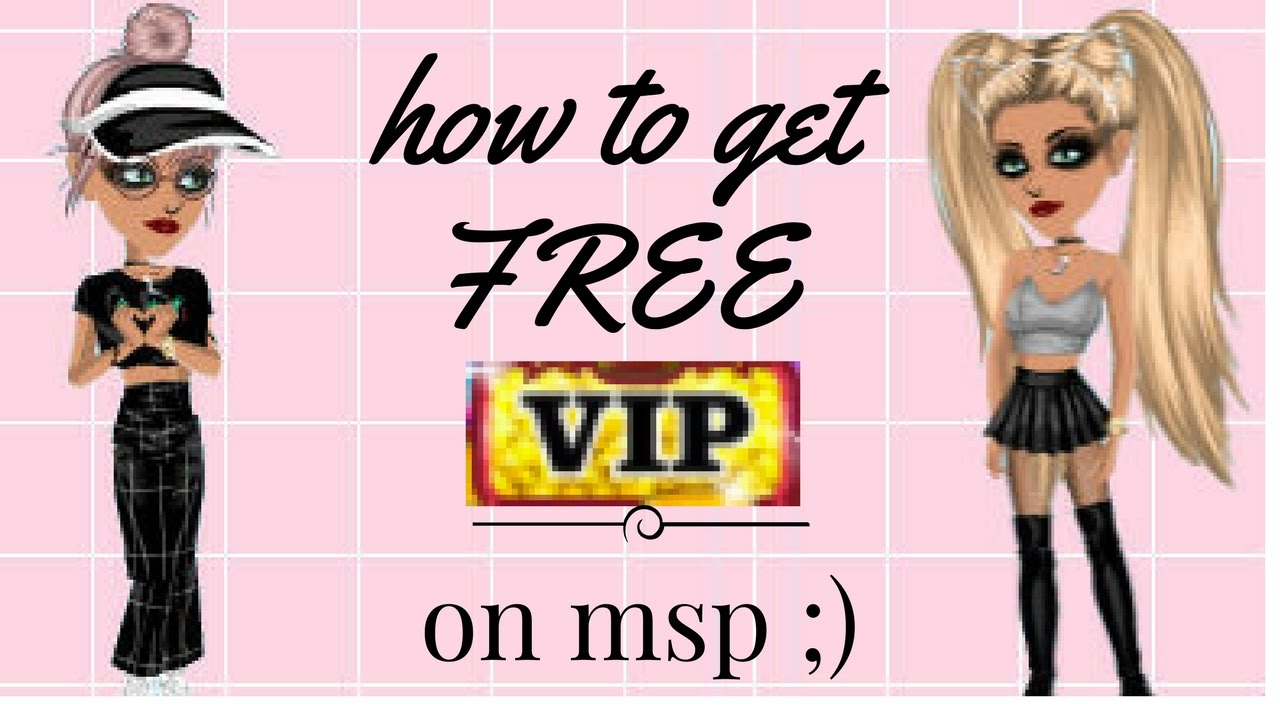 HOW TO GET FREE VIP ON MSP