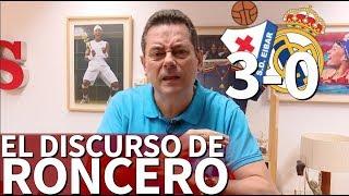 Eibar 3 - Real Madrid 0 | El discurso de Roncero tras el derrumbe en Ipurua | Diario AS
